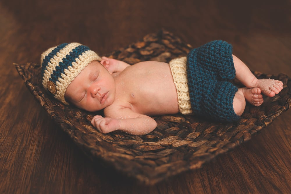 Newborn baby portrait lafayette broussard youngsville photographer 1