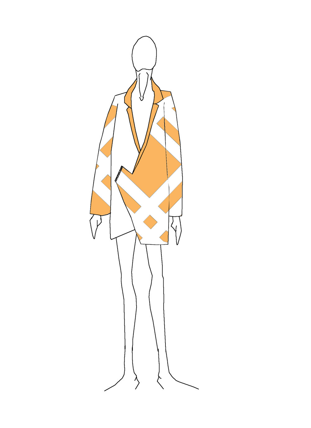 The Orange Slice Jacket   WOOD HOUSE Spring-Summer 2017