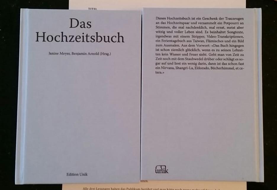Das Buch als beständiges Geschenk. (Foto: zvg.)
