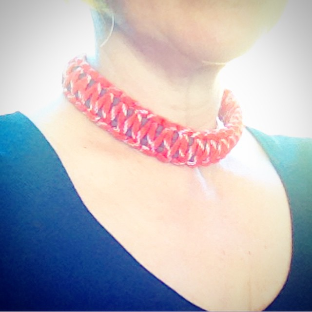Going to a party. Forgot the jewels. But I have a #dogcollar ! I just might create a trend. Sorry #dogs ! Have a great Saturday and always remember the #joy #fun and #humour in life. ❤️ #dogsofjoy  Eliisa