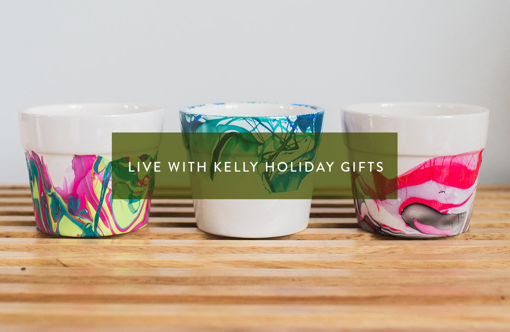 Live! with Kelly Holiday DIY Gifts