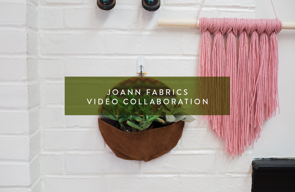 Jo-Ann Fabrics DIY Projects
