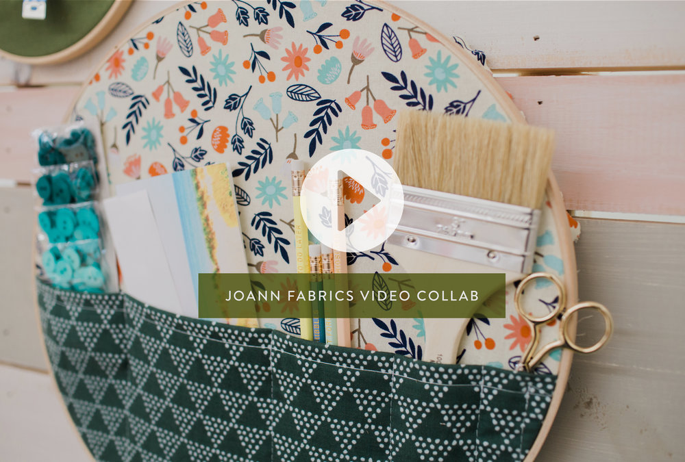 Jo-Ann Fabrics DIY Embroidery Hoops