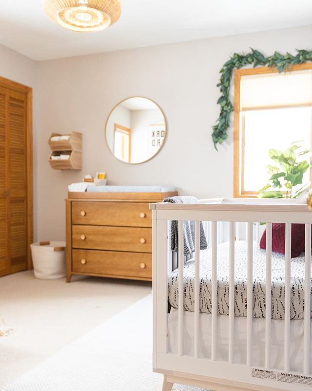 T G I F - if you need something to watch tonight check our my recent nursery swap makeover! Identical twins with completely different nurseries. Would love to know which one you like the best! Link to watch the episode is in my profile ☝️ . . . #eastcoastcreative #nursery #projectnursery #roommakeover #tradingspaces #bohonursery #ec2productions #neutralnursery #neutrals #crib #diymakeover