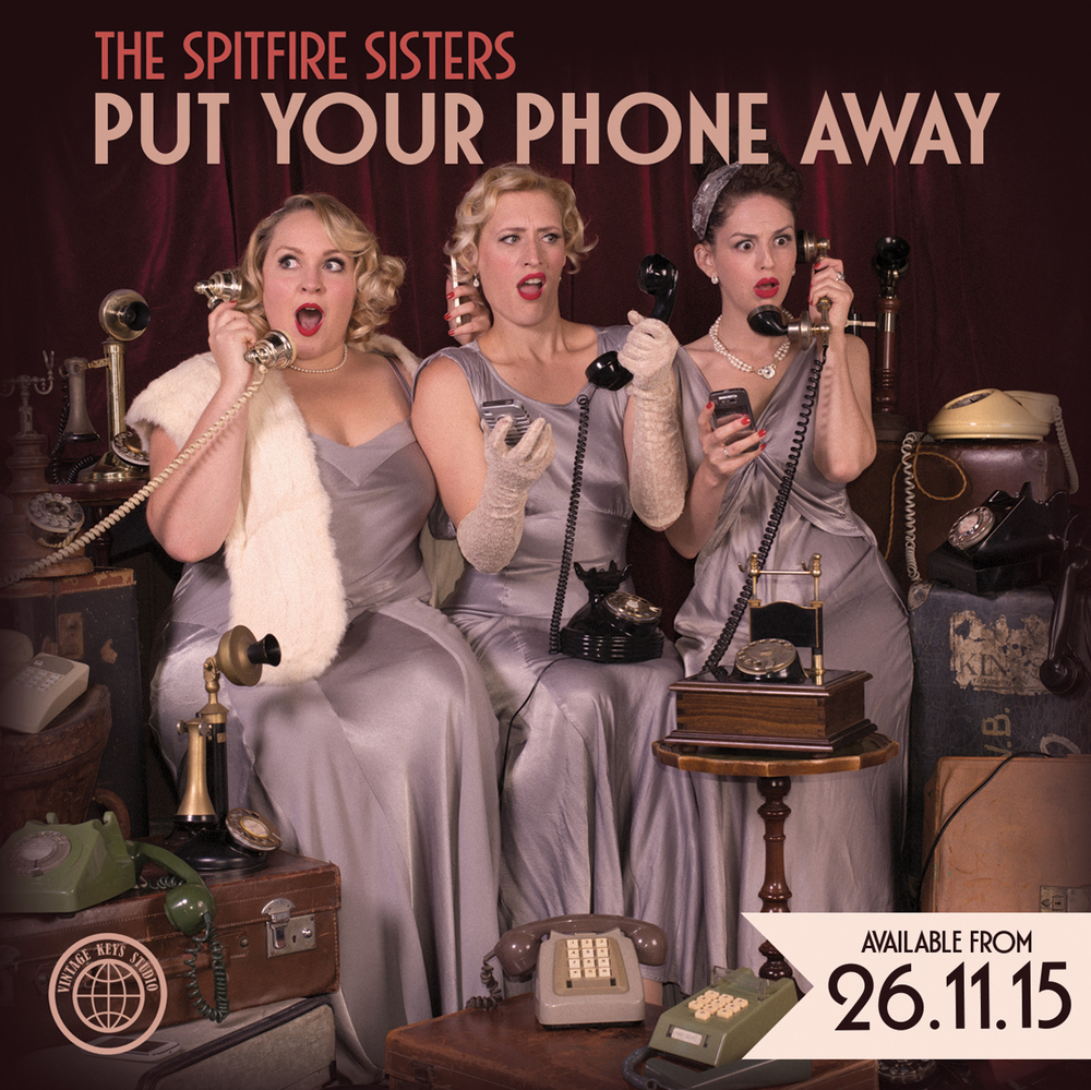 Introducing our brand new album 'Put Your Phone Away', available on 26/11/15