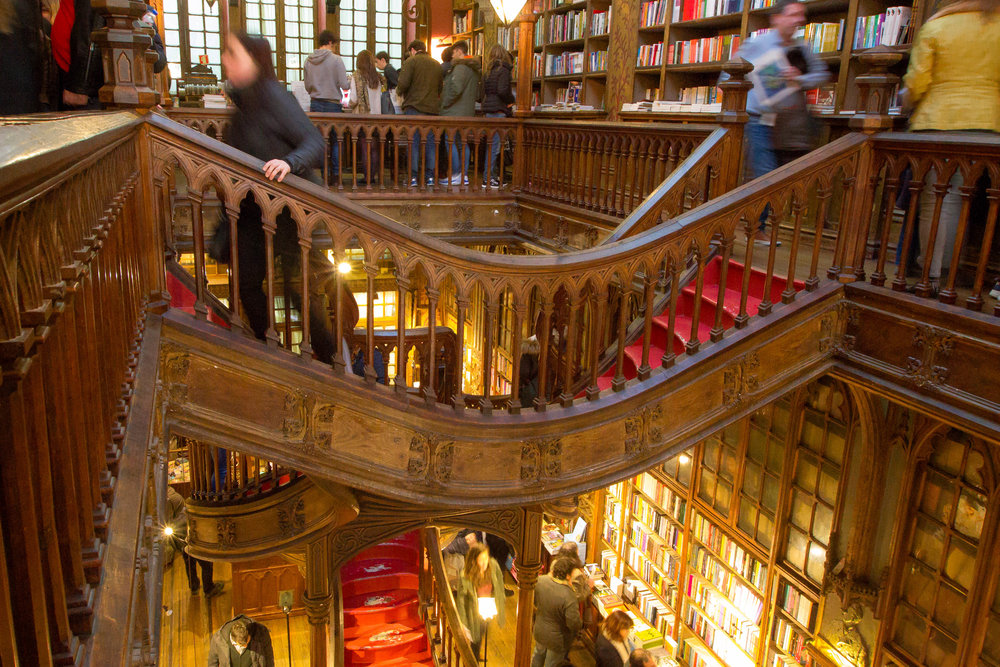 Livraria Lello.  Photo by Anna Harding.