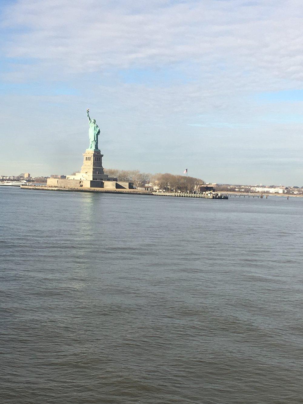 The Staten Island Ferry -