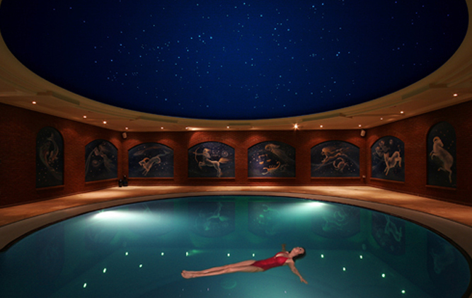 Celestial Flotation Pool at Nirvana Spa