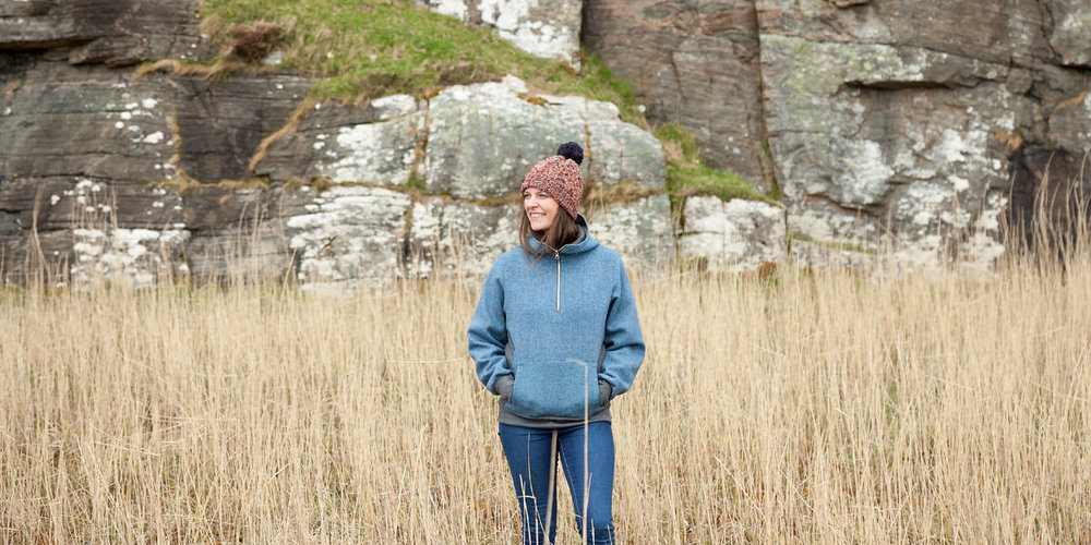 The Harris Tweed Hoody    Shop Now