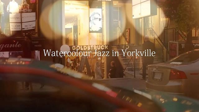 Our full video from The recent performance in Yorkville is available on IGTV or youtube [link in bio]. Thanks everyone for coming on that wonderful night. We loved playing at the beautiful and cosy @goldstruckcoffee. Special thank to @michaelhaley for filming our performance. ✨ . . . #watercolourjazz#anastasiaminster#kseniasapunkova#melancholy#chamberpop#artperformance#livemusicintoronto#livepainter#artevents#yorkville