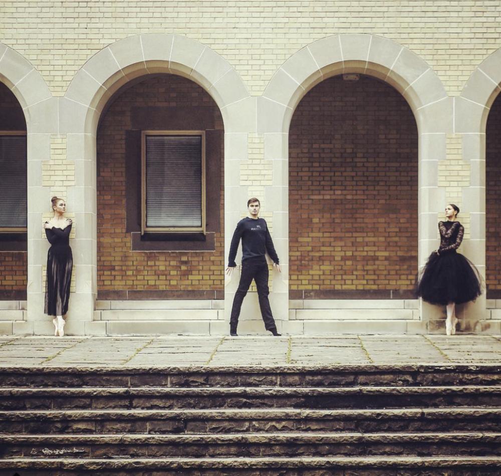 Nastya Loskutov, Kiril  Lordski , Liza Mironova photo : @tianxiaozhang