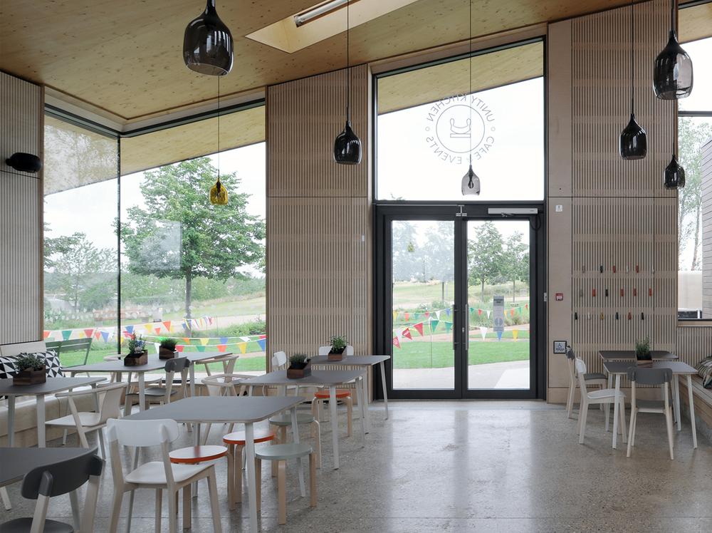 4/4 QE Olympic Park Hub, London / Erect Architects