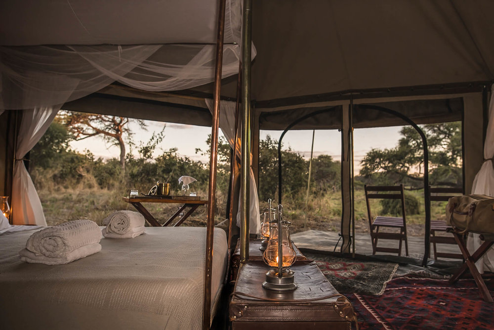 Most travelers opt for a permanent camp, lovely but not what we like to call a real safari, we very fondly call these types of safari a 'SPAfari'. Private canvas safaris are mobile, more reminiscent of the overland expeditions led by John's great great grandfather to escort princess Eugenie to see her son's grave after the Anglo-Zulu wars.