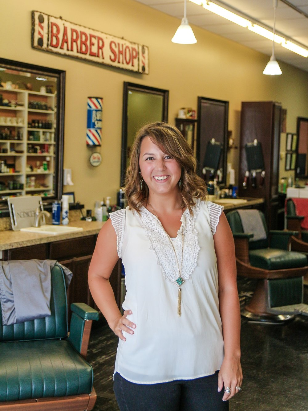 Hannah - Barber, Stylist  Location : Epps Bridge Pkwy  Work Schedule : Mon, Wed, Fri, Sat