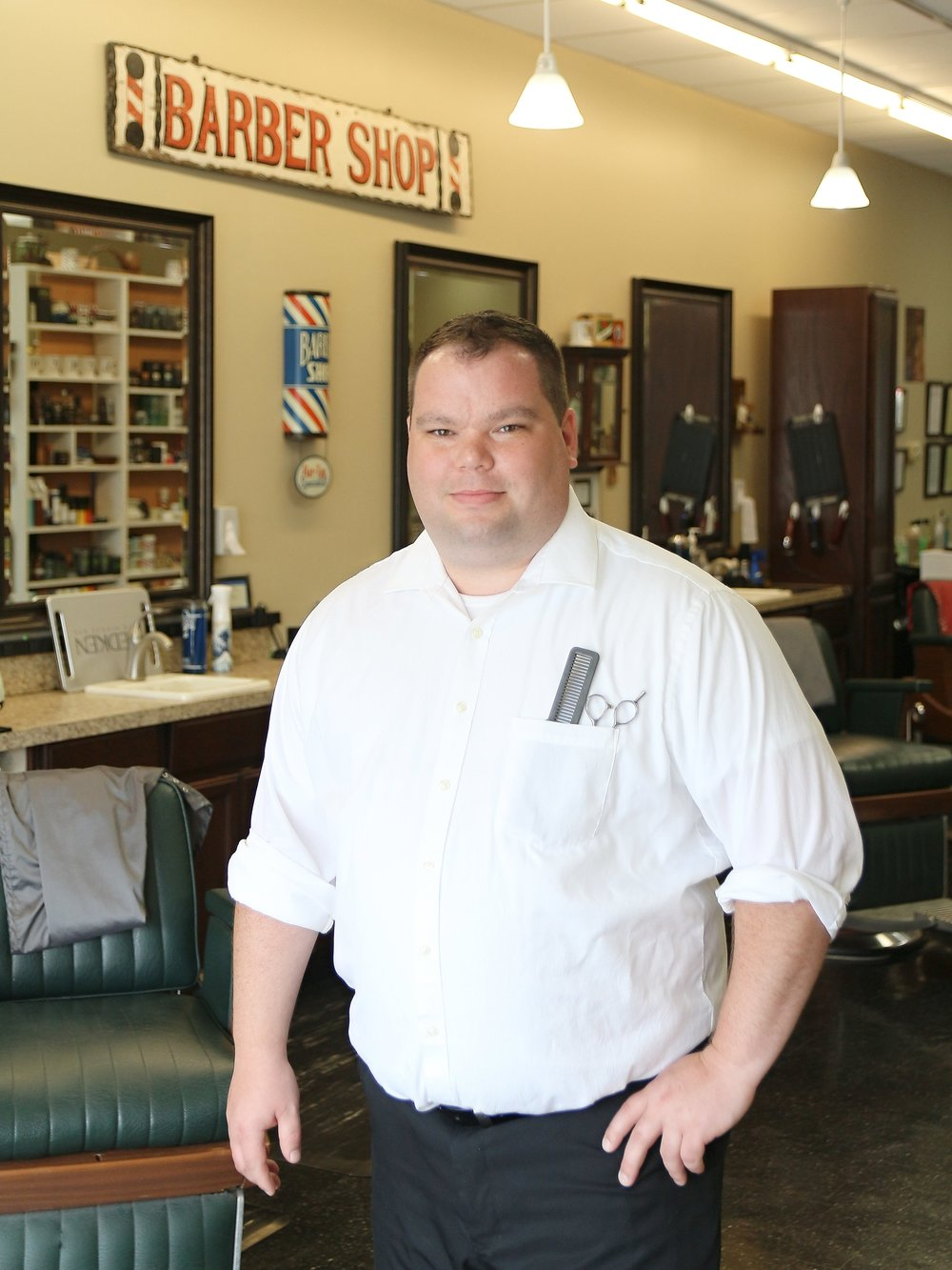 Matt - Master Barber  Location : Epps Bridge Pkwy  Work Schedule : Tues, Wed, Thurs, Fri, Sat