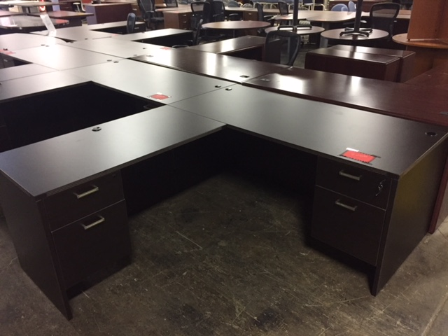 "Cherryman ""L"" Desk"