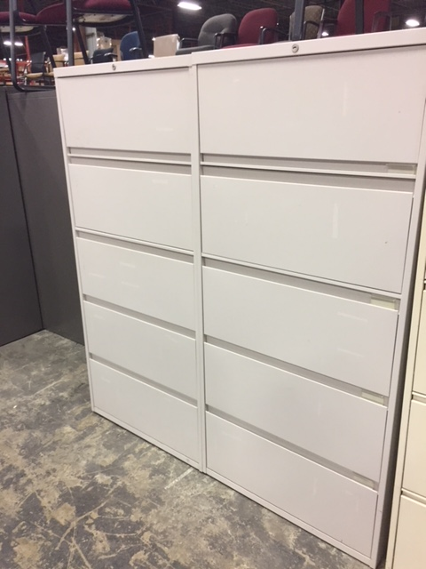 Steelcase 5-Drawer Lateral File