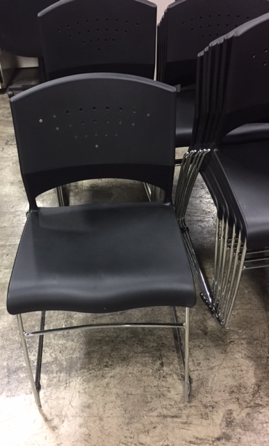 Black Stack Chairs