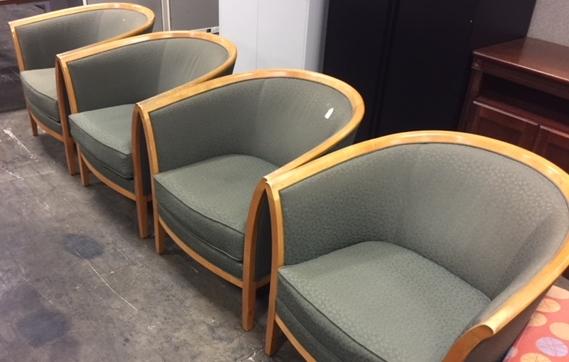 Bernhardt Barrel Side Chairs