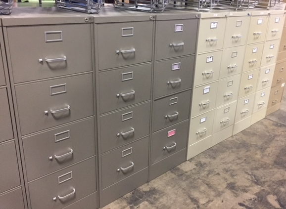 Steelcase 4-Dr Letter/Legal Files
