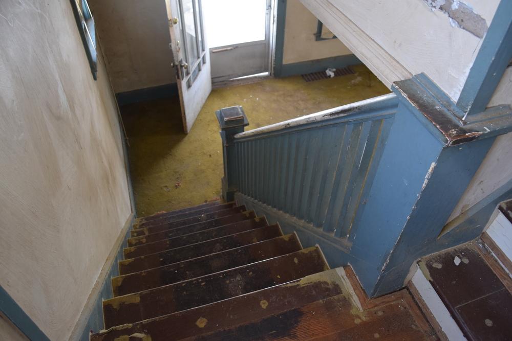 116 Benedict - Stairs 1 Before.JPG