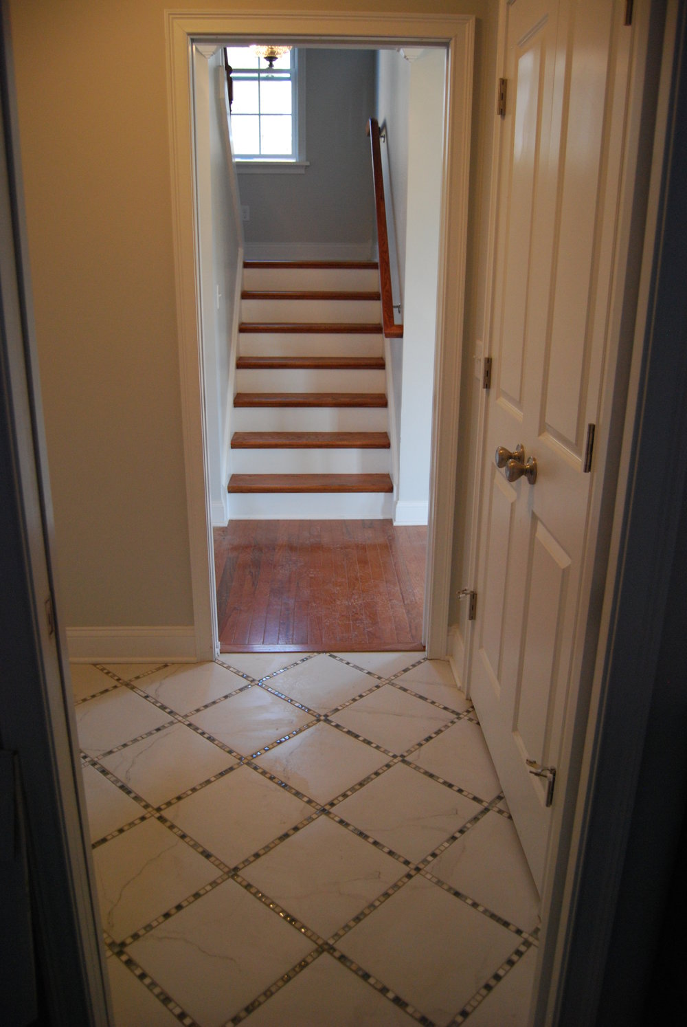 Bathroom Floor & Stairs