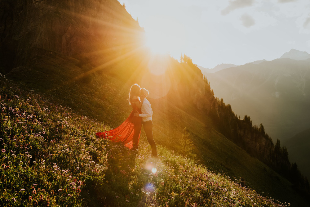 Kananaskis couple session