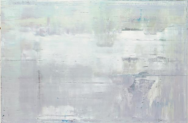 This work shows the temperature and value range of the color white. Gerhard Richter, Abstract Painting (911-2), 2009, 78 3/4 in. x 118 1/8 in., Courtesy of Marian Goodman Gallery, New York. (Click on painting for link.)