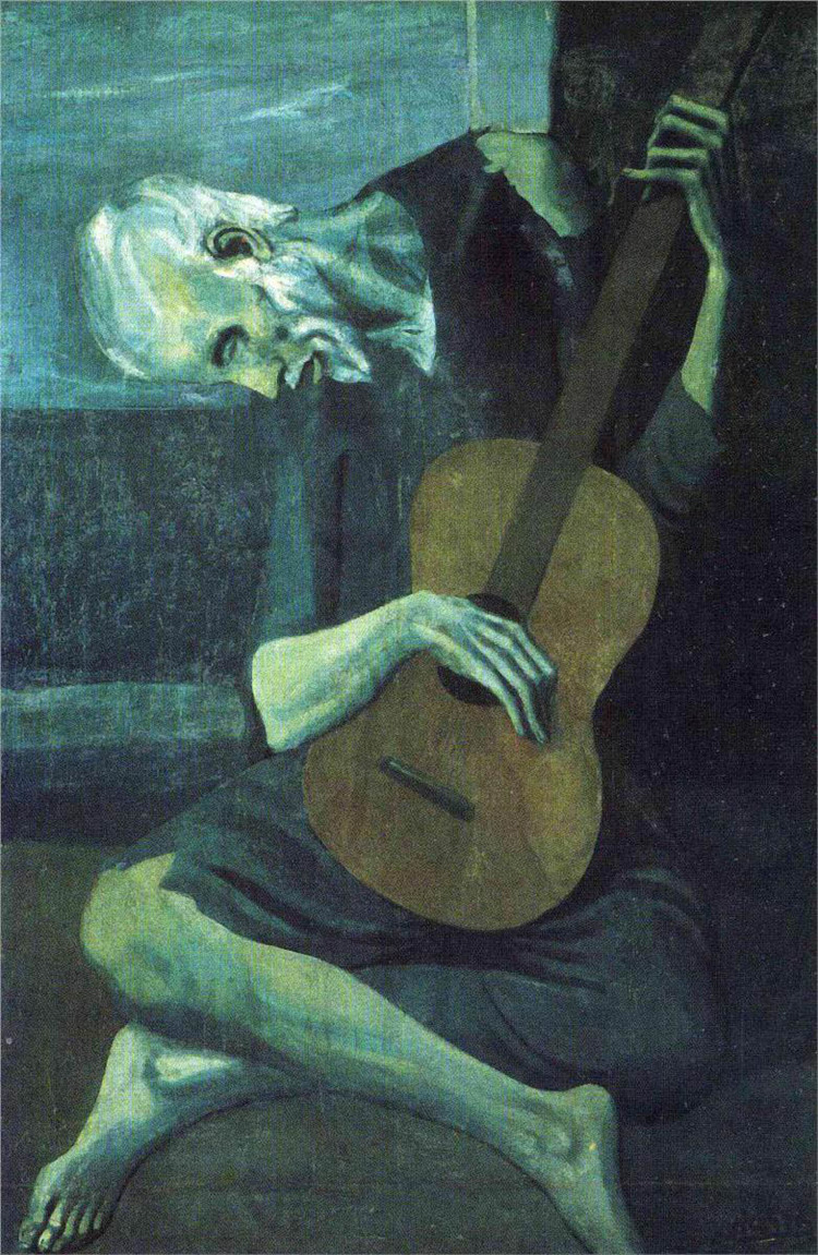 The Old Blind Guitarist 1903