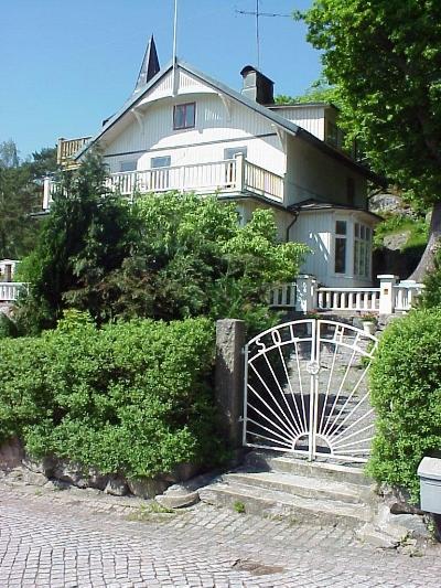 """The original """"Solhem"""" in Särö, Sweden.  Solhem  means """"sun home"""" in Swedish."""