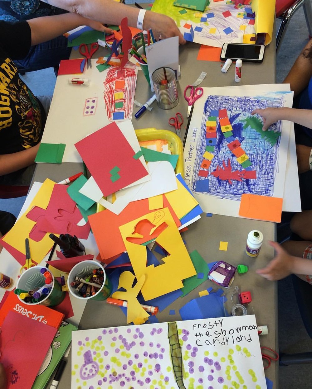 Games created by children at TCMU