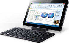 Samsung Slate 7 with Docking Stn and Keyboard