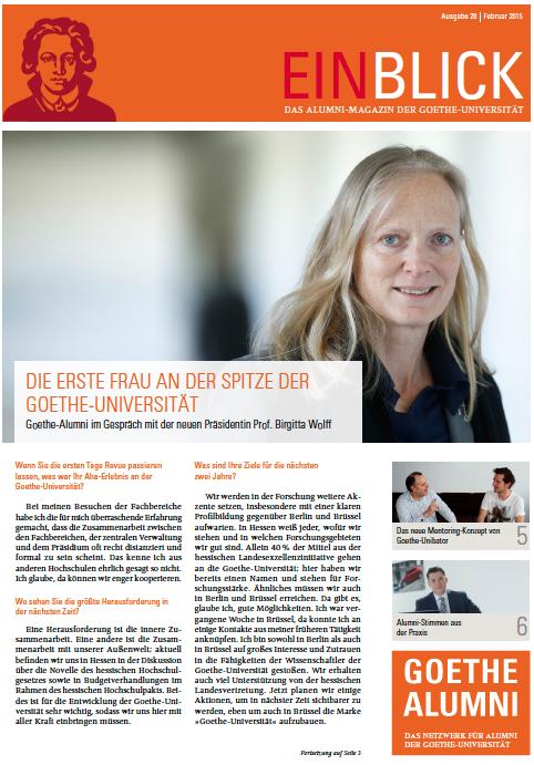 Eric Mayer Interview Goethe Alumni ZDF Journalist Moderator