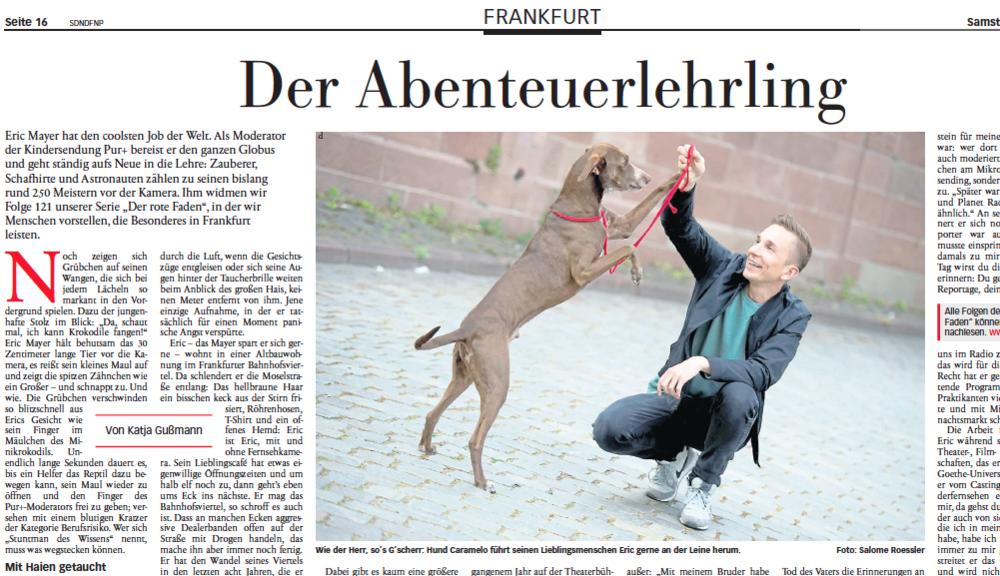 Frankfurter Neue Presse vom 02.05.2015