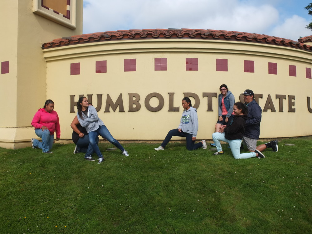 Humboldt State &INRSEP welcome youth.
