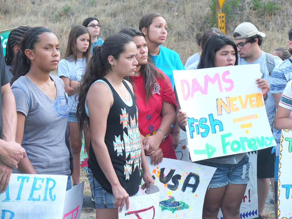 So Cal and Nor Cal youth in unity for Hoopa Reservation water rights, survival.