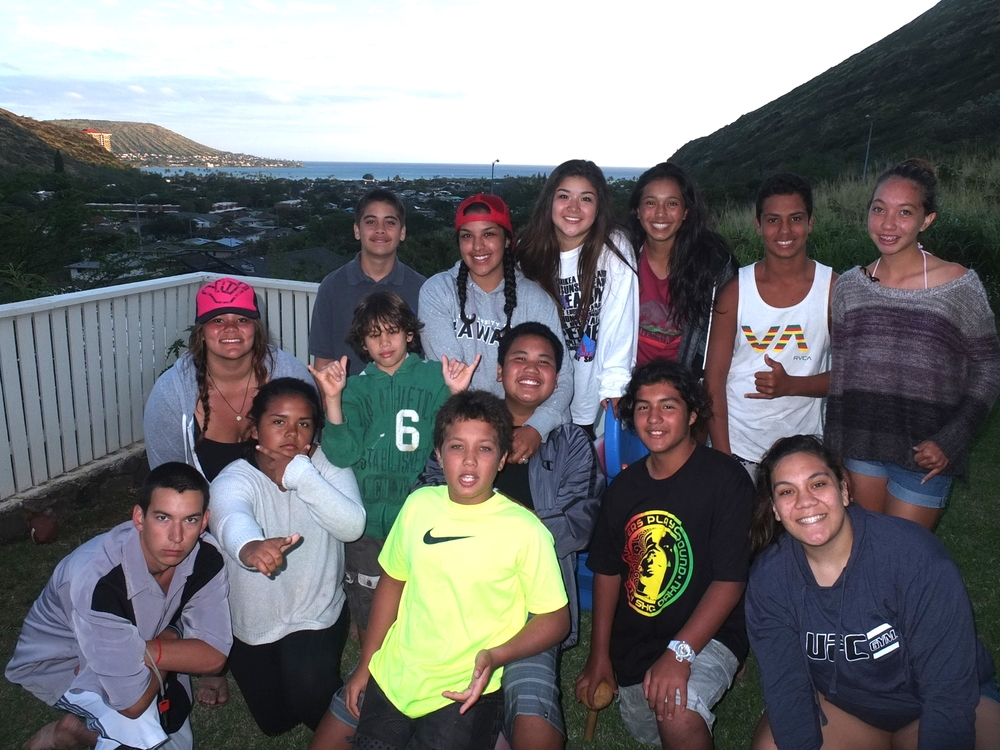 Febuary 2015: nterTribal Youth and Na Kama KaI Program Closing Dinner