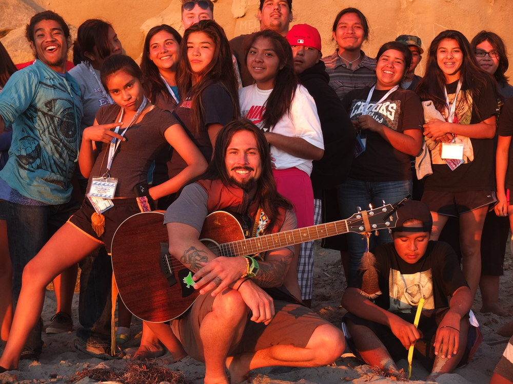 Singer, Songwriter, Paul Cannon (San Pasqual- Kumeyaay), knows the struggle and knows their is a brighter horizon.