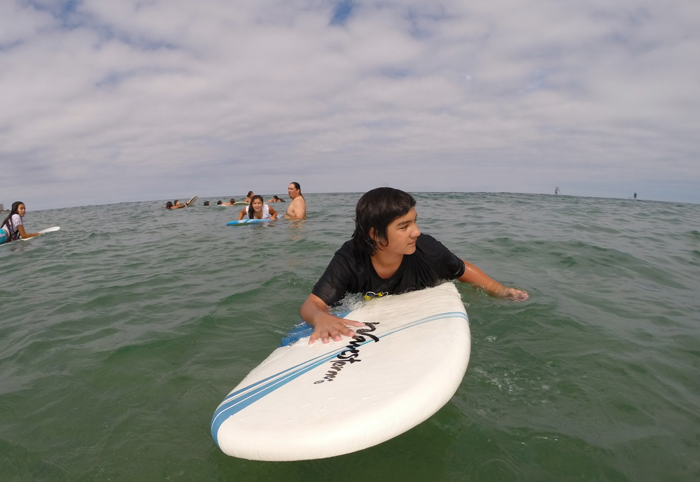 Surfing, paddling and water sports  is Native like water. Returning our youth to the ocean lifestyle and culture  is vital to a natural healthy future and within origninal natural environments.