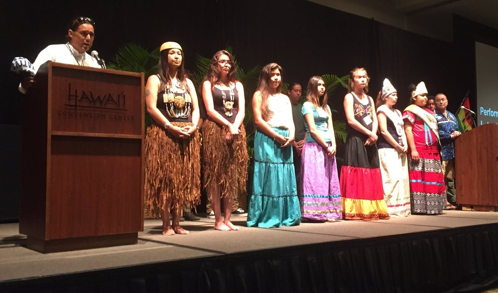 Hokulea's World voyage Homecoming celebration and World Youth Congress. Southern California Native Presentation and Hawaii's Maritime mentorship 2017