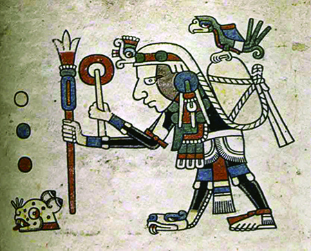 Ancestral Traveling Merchants trading from Michocan to California carrying Cacao and important Words.