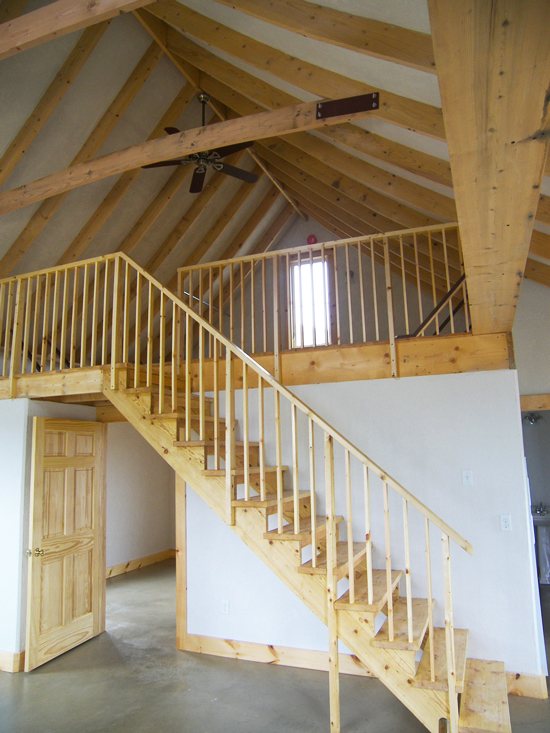 One Bedroom Loft: Gallery—Boiceville Cottages