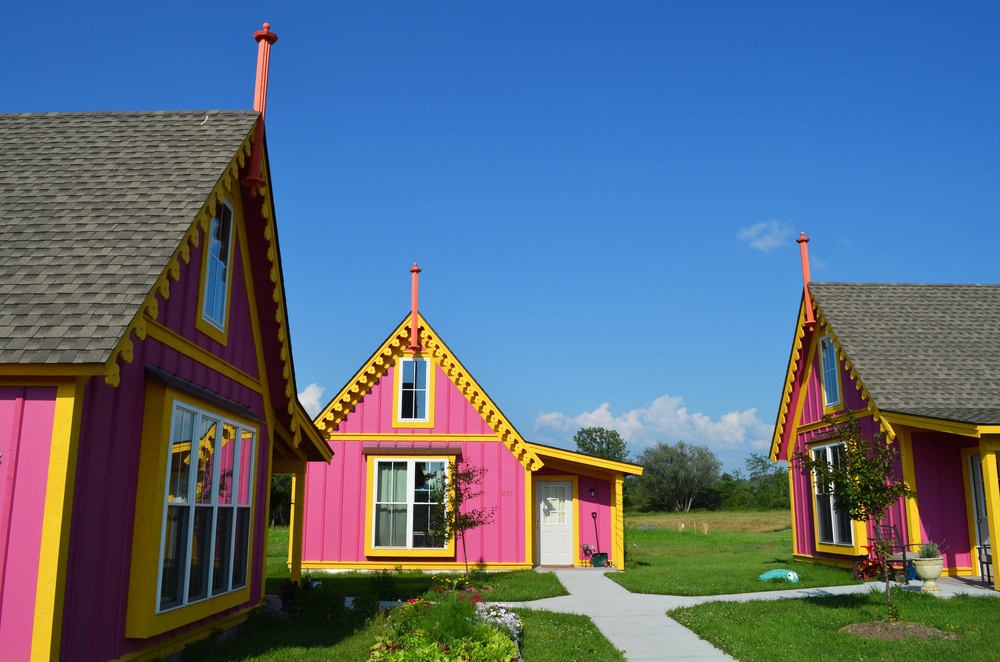 Pink Cottages at Boiceville