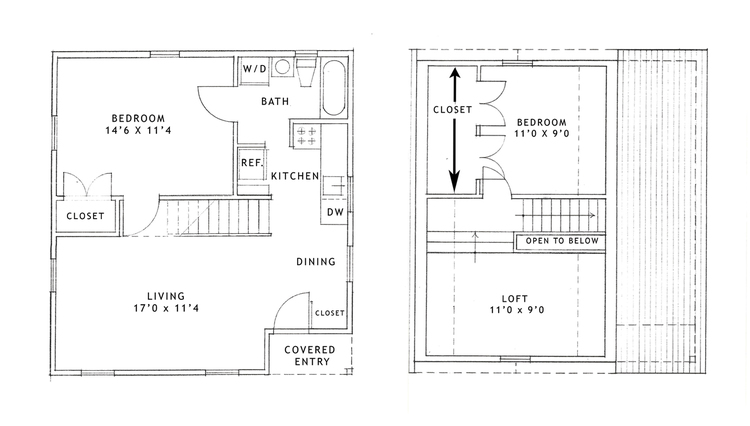 2 bedroom loft. The Apartment Has 950 Square Feet, And Is Larger Than Studio, Tiny House, Charming 1 Bedroom + Loft . Rent For This Starts At 2