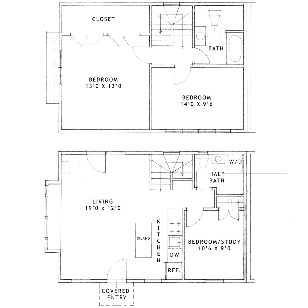 Gatehouse 3 Bedroom Apartment—Boiceville Cottages