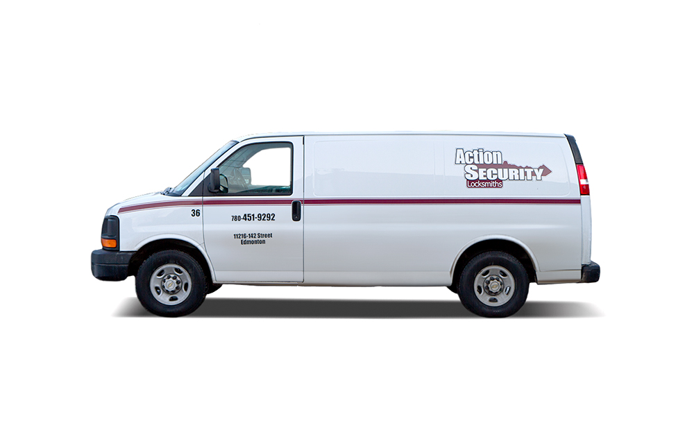 Our fleet of service vehicles is comprised of fully stocked mobile service units staffed by our knowledgeable, licensed Journeyman locksmiths and apprentices.