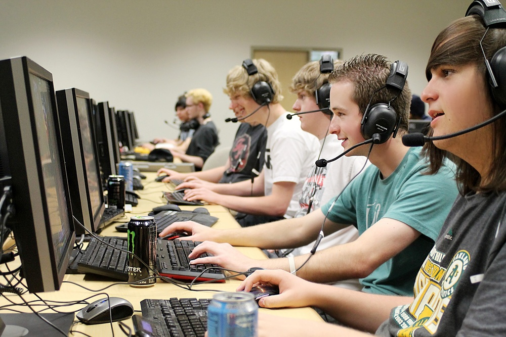Nevada eSports gamers at University of Nevada, Reno