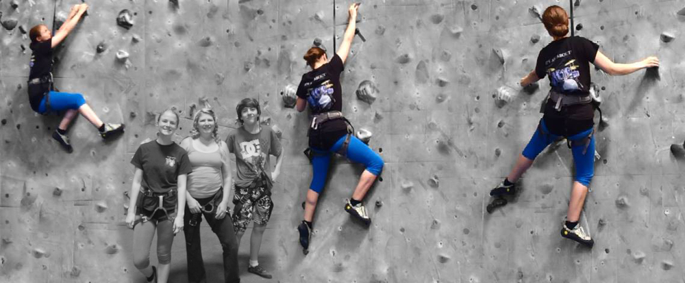 Pre-show rock climbing workout with Nick & Kim