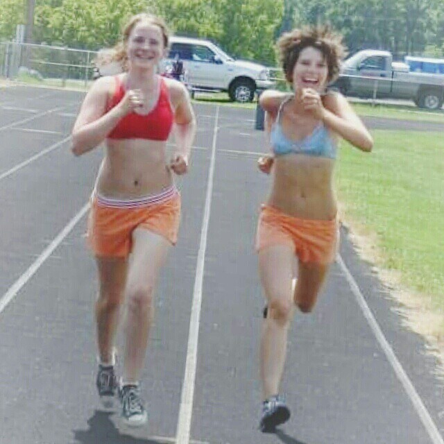 Running with Erica