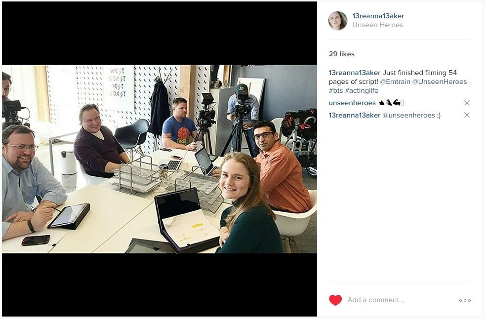 Thomas Engstrom   ,   Jason Bortz   ,   Kahl Payne   ,   Ausaf Masud   ,   Dominick Porras   ,   Breanna Baker   . Not pictured:   Dave Losko .  View on Instagram:  https://instagram.com/p/xdI15DQhRN